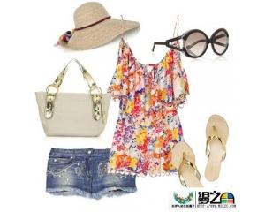 欧系日系流行的夏季服饰