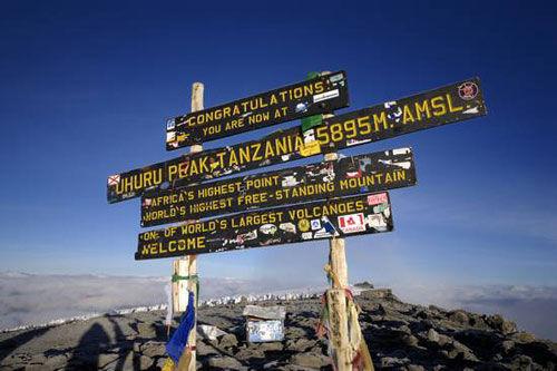 乞力马扎罗山有6条经典的登山路径,不同的路线有不同的难度等级、人流量和景色优美程度