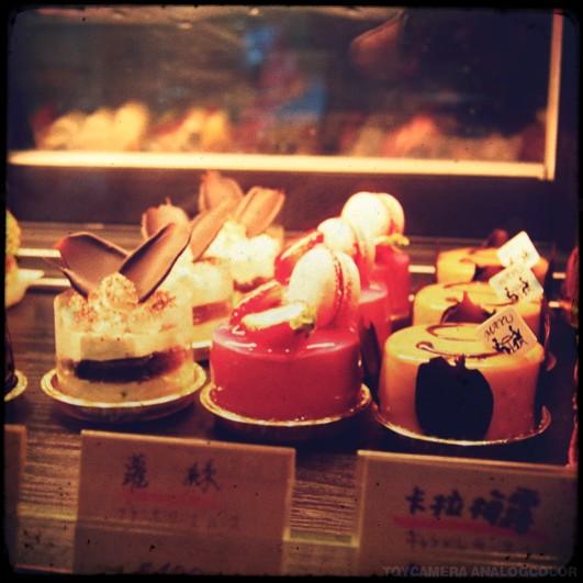 MAYU CAFé中的法式甜点